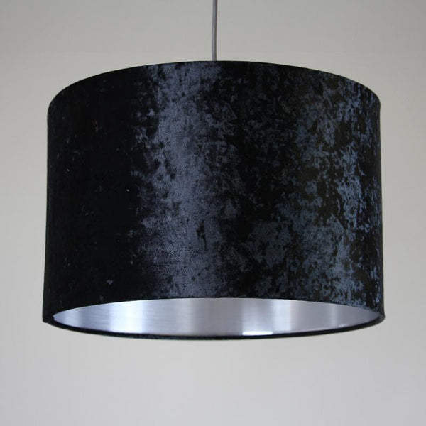 Rocke Crushed Velvet Drum Shade