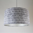 Rocke Isla Charcoal Drum Shade