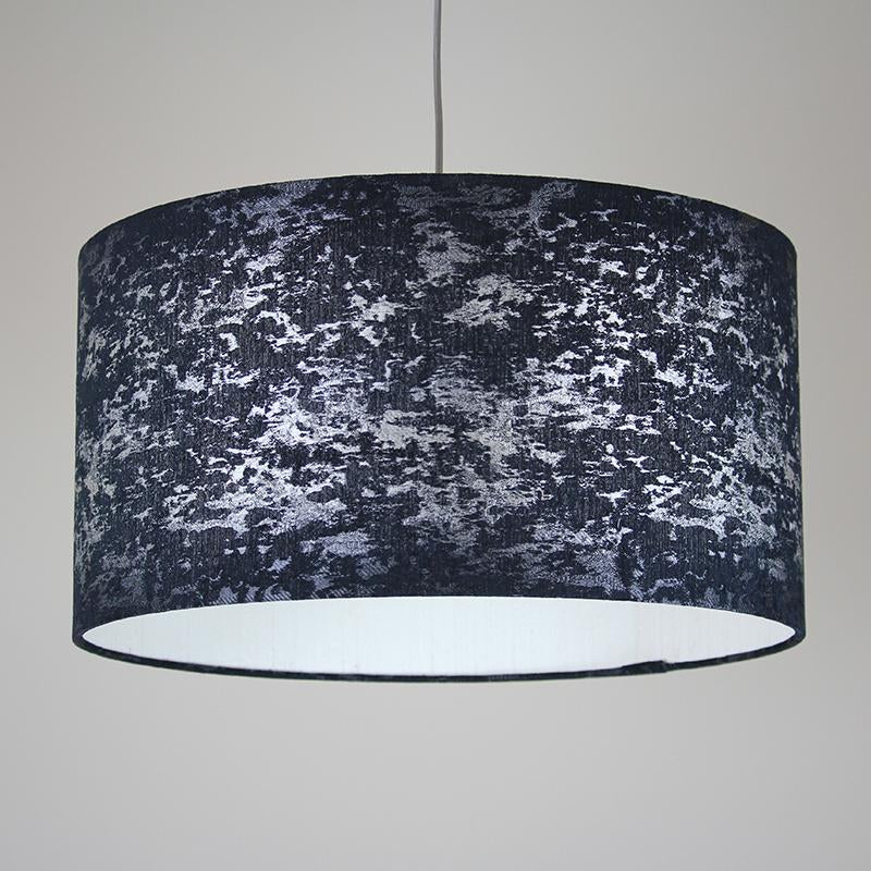 Rocke Baroque Charcoal Drum Shade