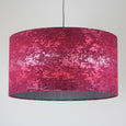 Rocke Baroque Ruby Drum Shade