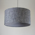 Rocke Weave Charcoal & Weave Sterling Drum Shade
