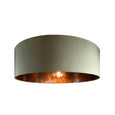 Rocke Kelp Shallow Drum Shade with Anthology Oxidise Copper