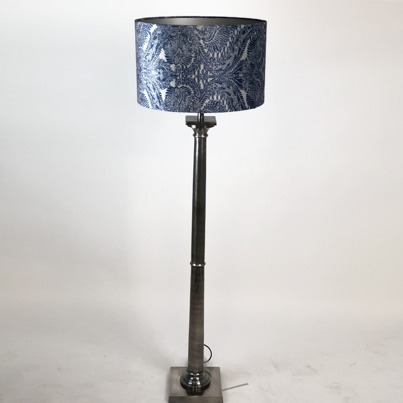 Doric Floor Lamp Burnished Pewter