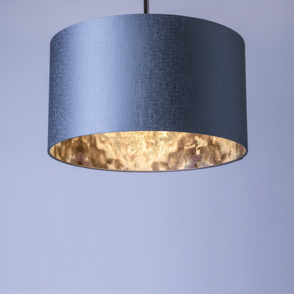 Rocke Carnaby Pewter Shade with Anthology Envision Amethyst Aquamarine