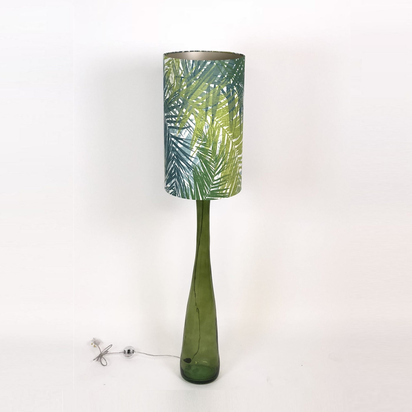 Hydnum Floor Lamp & Aruba Green Shade