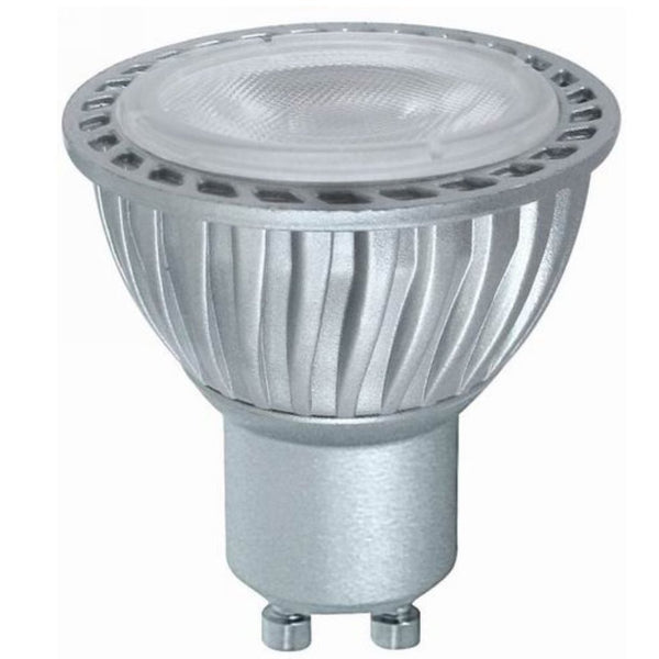 Bravo 5 Watt LED GU10 Silver Non Dimmable