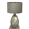 Ikela Enamel Bujumbura Finish Glass Table Lamp