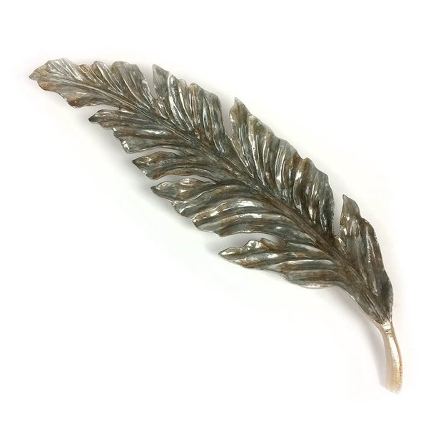 Aluminium Bujumbura Finish Leaf Sculpture