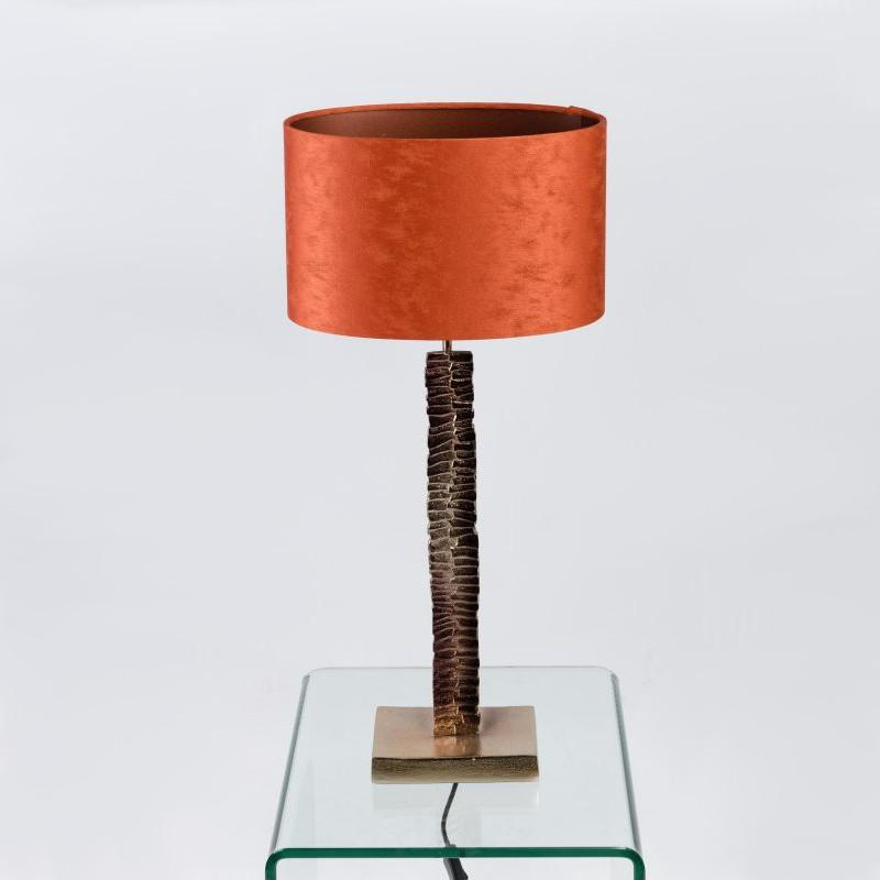 Paperbark Small Table Lamp Champagne Brown