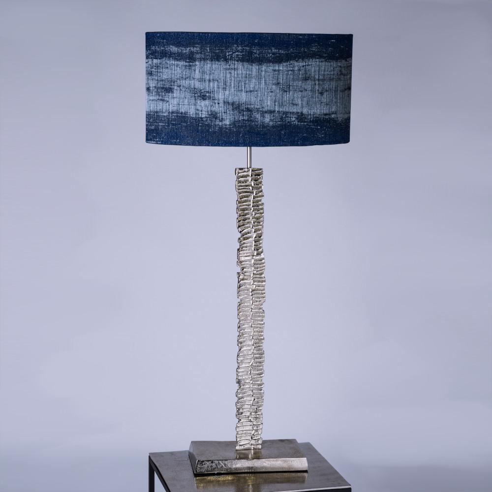 Paperbark Small Table Lamp Luxuriant Silver