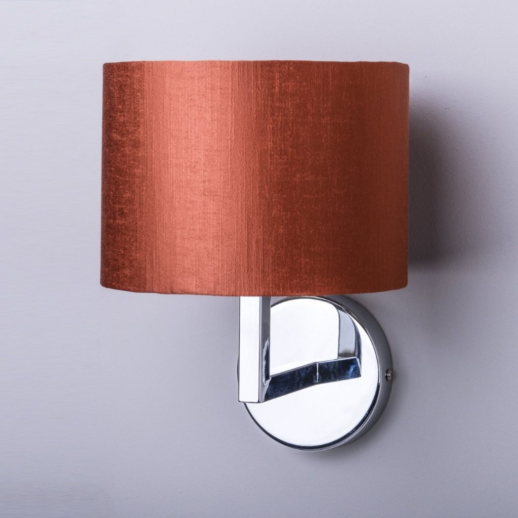 Emma Polished Chrome Wall Light