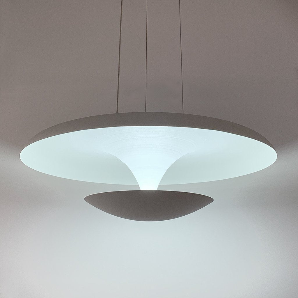Atomic 36w LED White Pendant