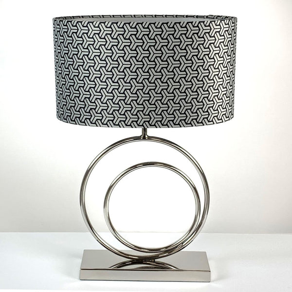 Helios Chrome Table Lamp