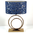 Helios Lacquered Brass Table Lamp