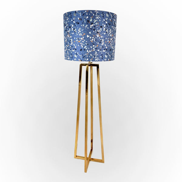 Madison Lacquered Brass Floor Lamp