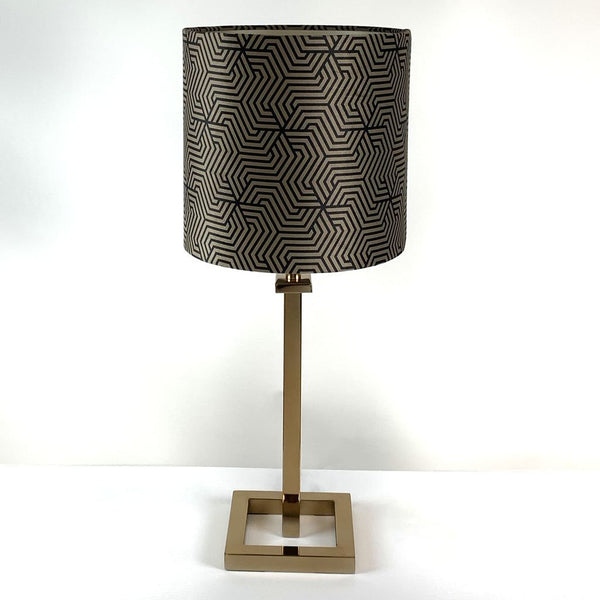 Aura Lacquered Brass Table Lamp