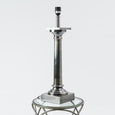 Doric Table Lamp Burnished Pewter