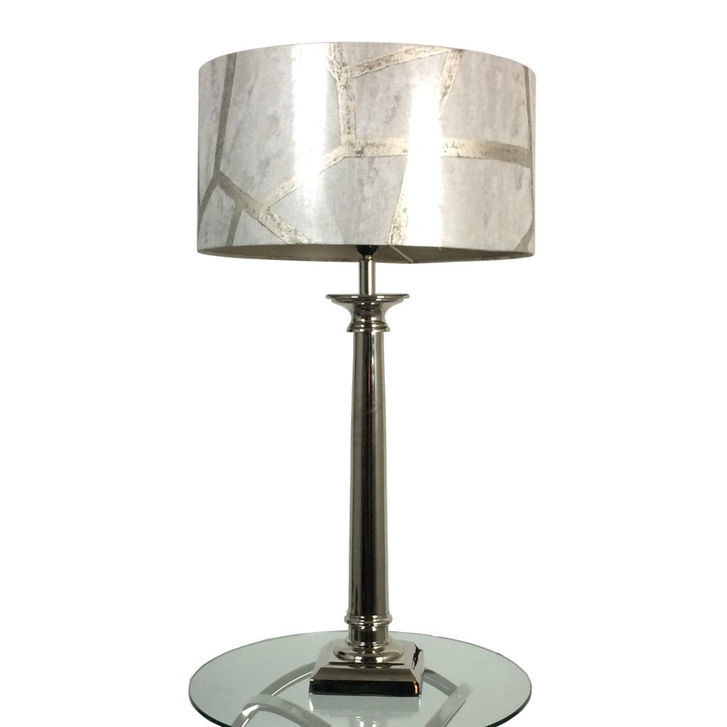 Tuscan Polished Nickel Table lamp