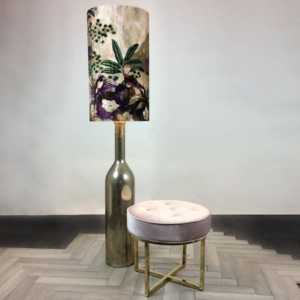 Procera Mercury Floor Lamp with Geisha Emperor