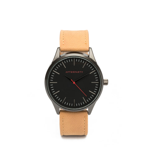 Urban Oversized Tan & Black Watch