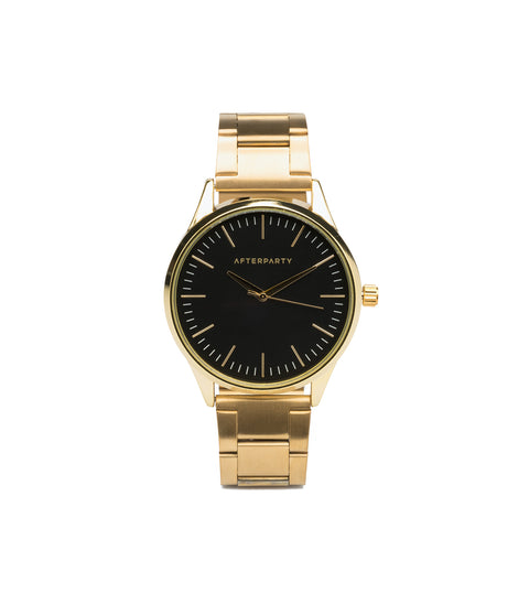 Urban Oversized Gold Bracelet Watch