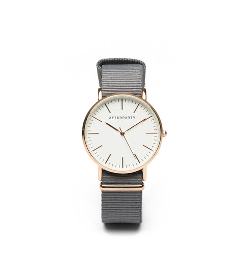 Urban Grey Nylon Watch Watch