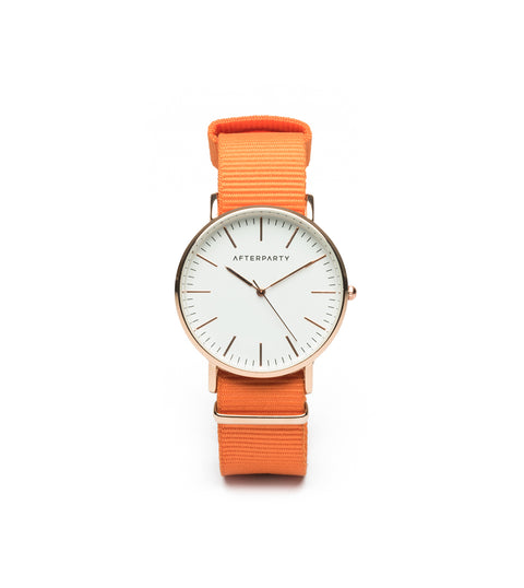 Urban Orange Nylon Watch