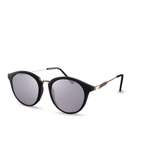 Flash Lens Sunglasses In Matte Black