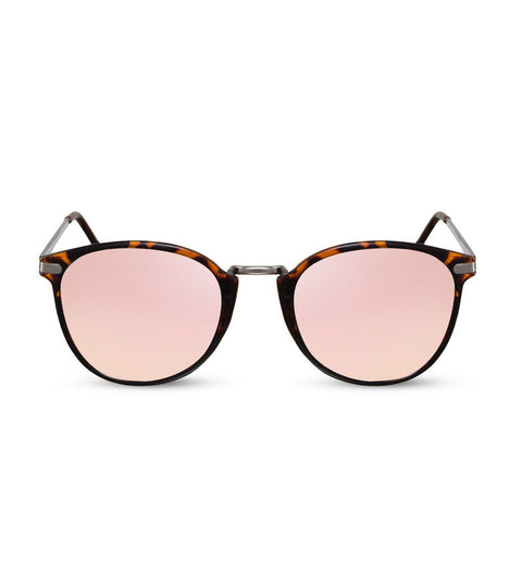 Flash Mirror Pink and Tortoiseshell Sunglasses