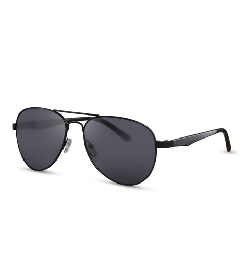 Black on Black Classic Aviator Sunglasses