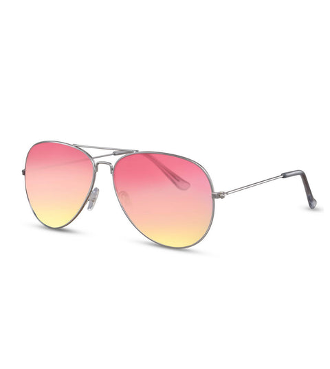 Aviator Sunglasses With Summer Fade Lens