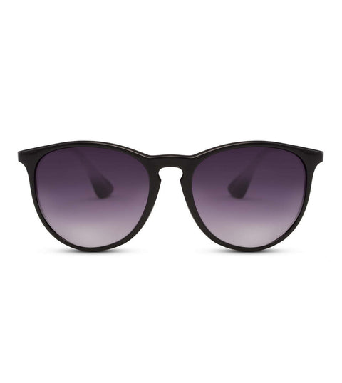 Black Sunglasses With Smoke Lens