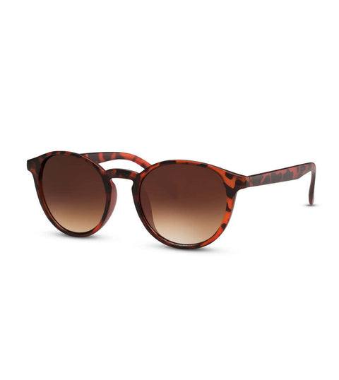 Dark Tortoiseshell Sunglasses With Brown Smoke Lens