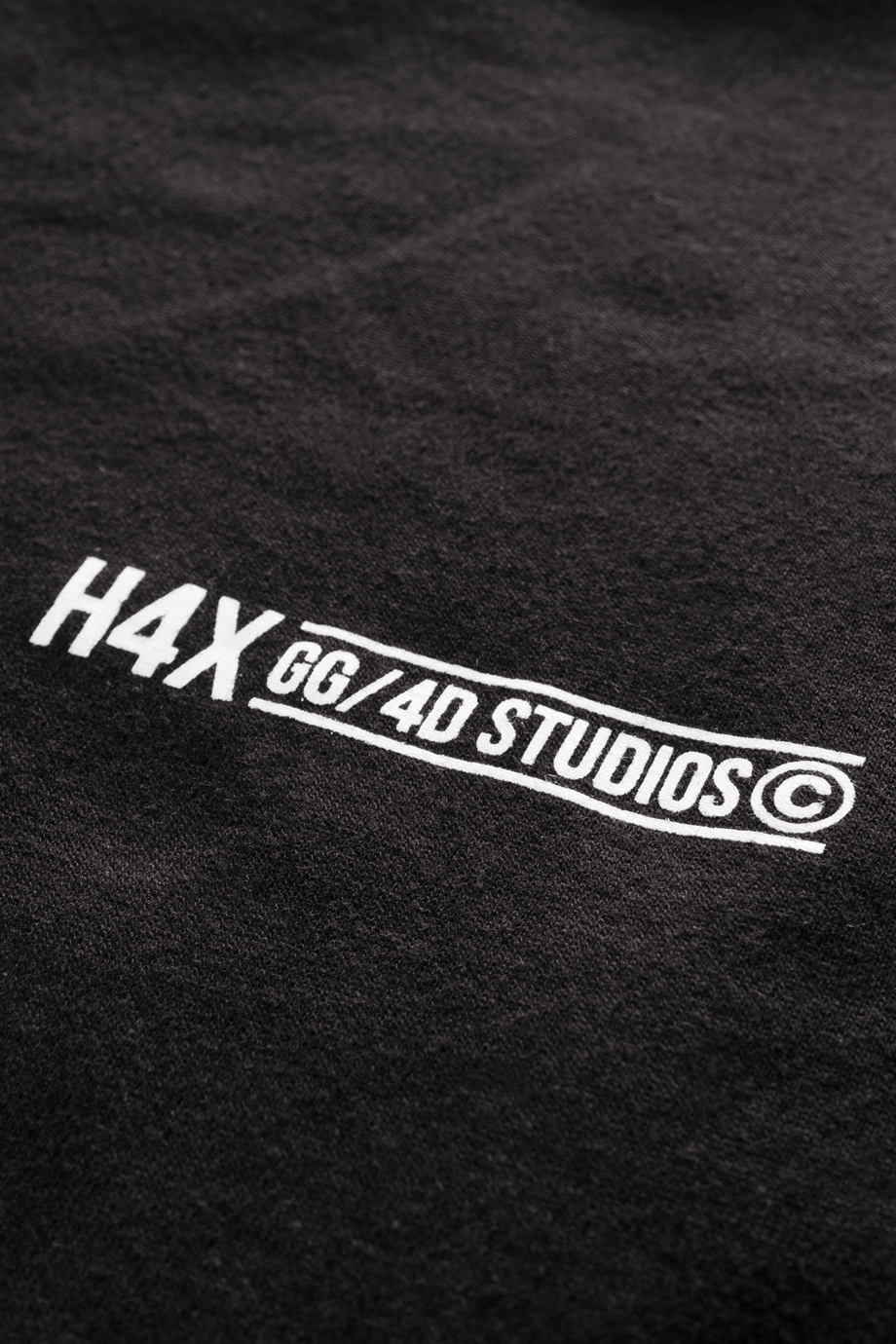 H4X Robot Arm Long Sleeve Tee details 2