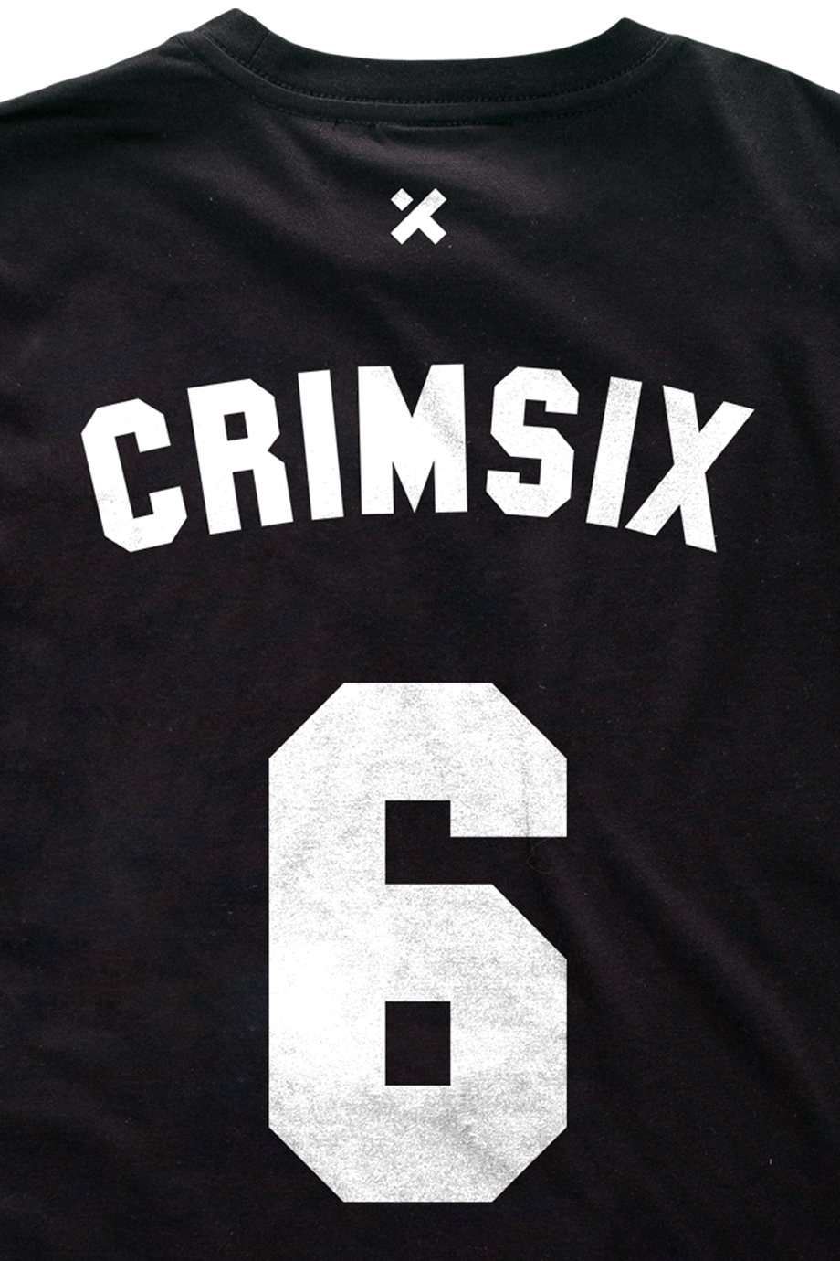 H4X CrimSix Dry-fit Black details