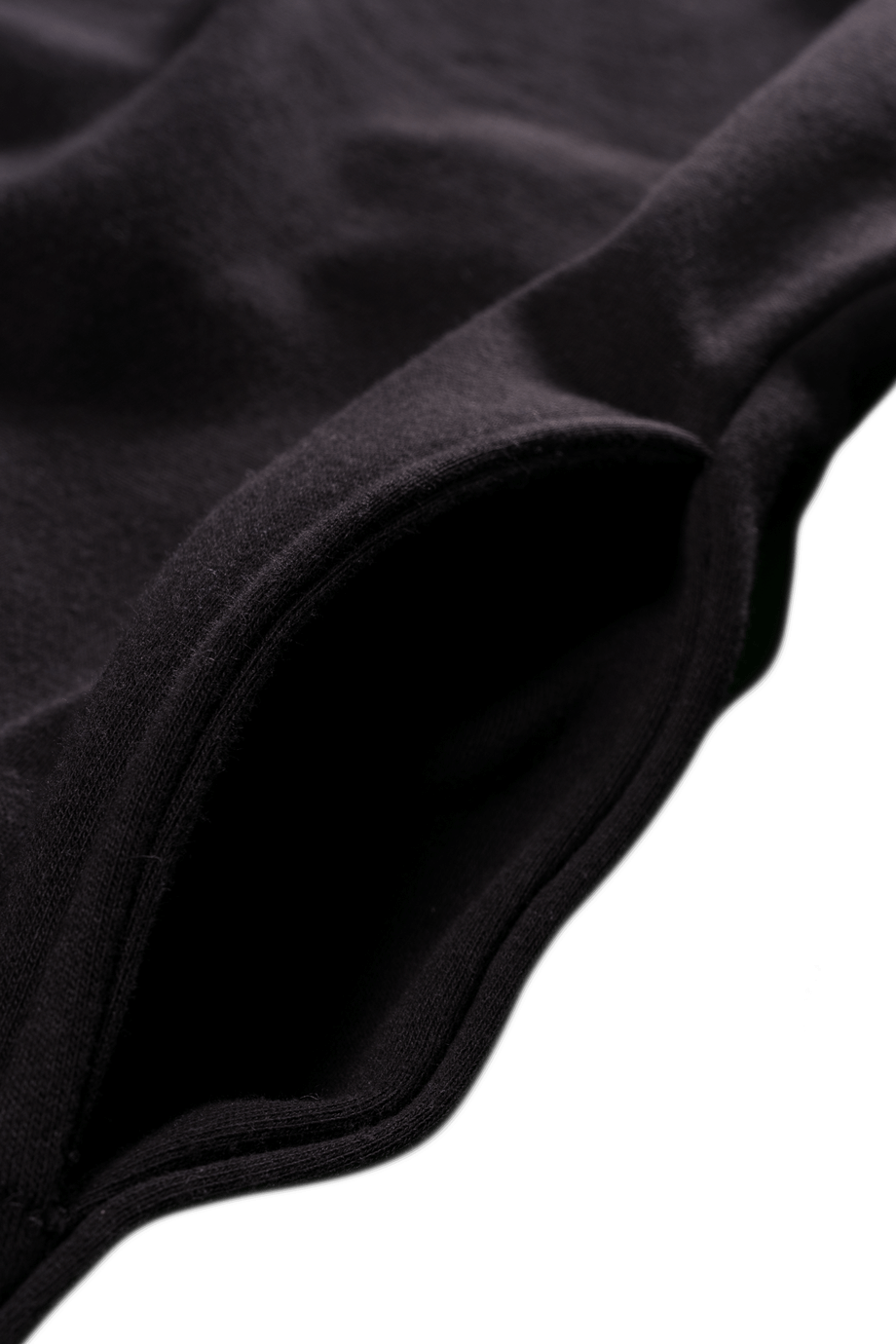 H4X COMPLEXITY CLASSIC HOODIE Black details