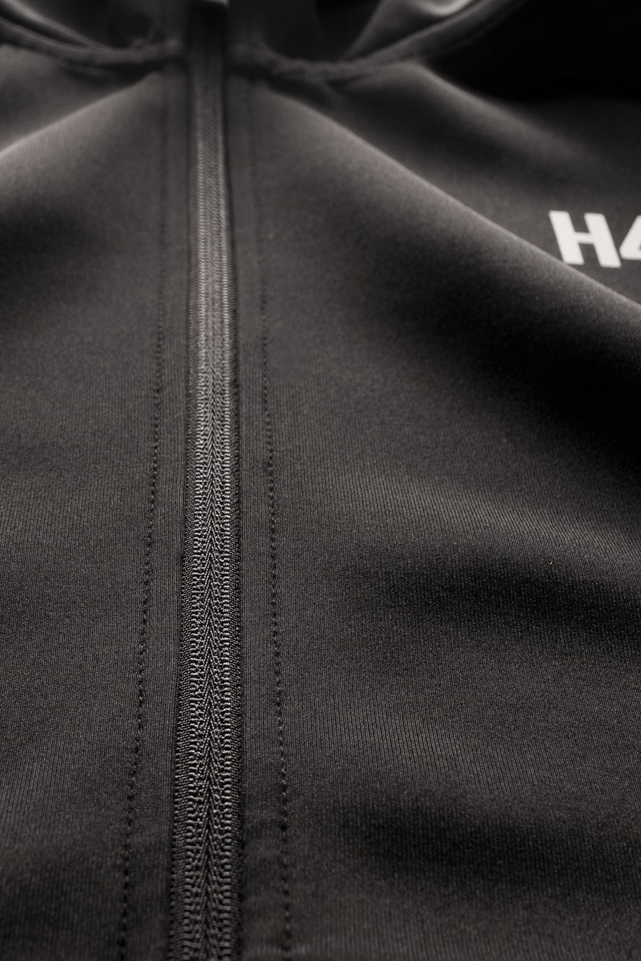 H4X COMPLEXITY PERFORMANCE HOODIE Black details2