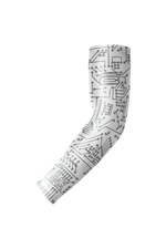CRIMSIX COMPRESSION SLEEVES WHITE