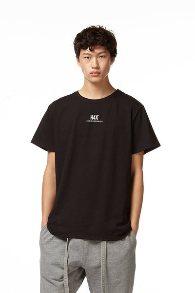 H4X Loose Fit T-Shirt black front