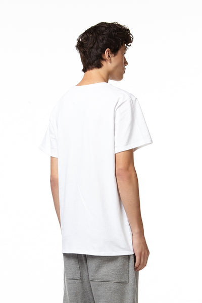 H4X Loose Fit T-Shirt white back