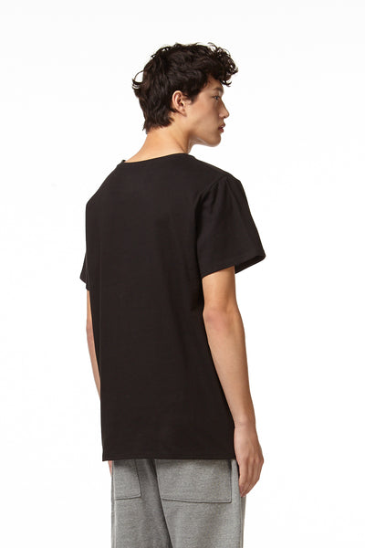 H4X X-RAY T-SHIRT black back