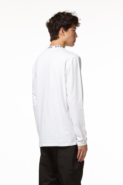 Rock Lee Mock Neck in White