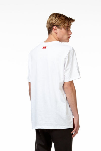 TARIK HEAT T-SHIRT white front
