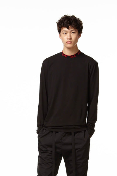 Rock Lee Mock Neck in Black