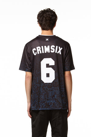 CRIMSIX JERSEY black back