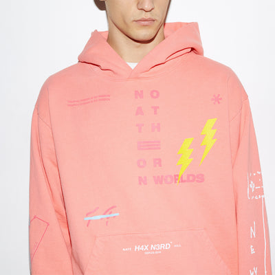 H4X x Nate Hill on Other Worlds Hoodie