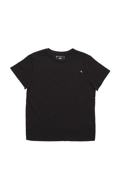 H4X 3D Loose Fit Pocket T-Shirt black front