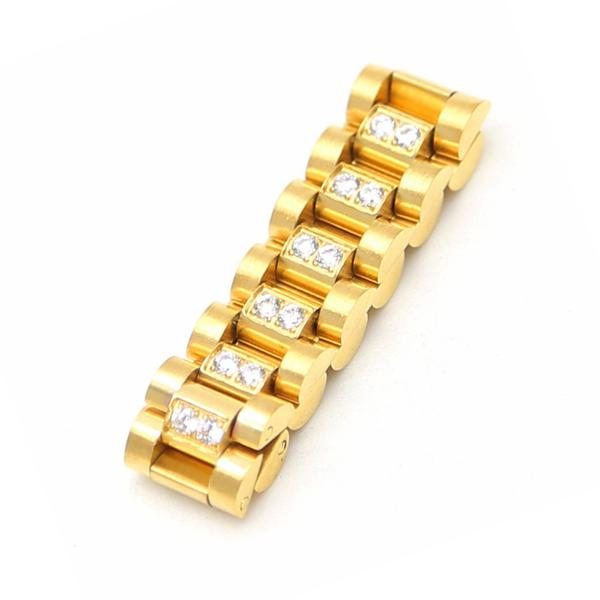 Watch Link Micro Diamond Ring