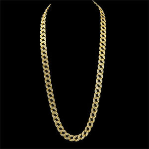 Cuban Link Micro Diamond Chain