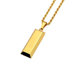 Gold Bar Necklace
